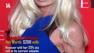 Top 15 richest woman in the world