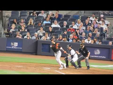 Orioles Manny Machado 470 Ft Monster Homerun Vs Yankees HD