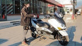 Yamaha T-Max 500. Пол-литра годного скутера.