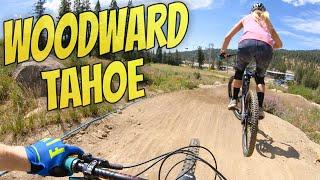 Mountain Biking At Woodward Tahoe