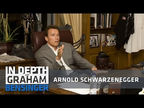 Arnold Schwarzenegger: Governor was role of lifetime