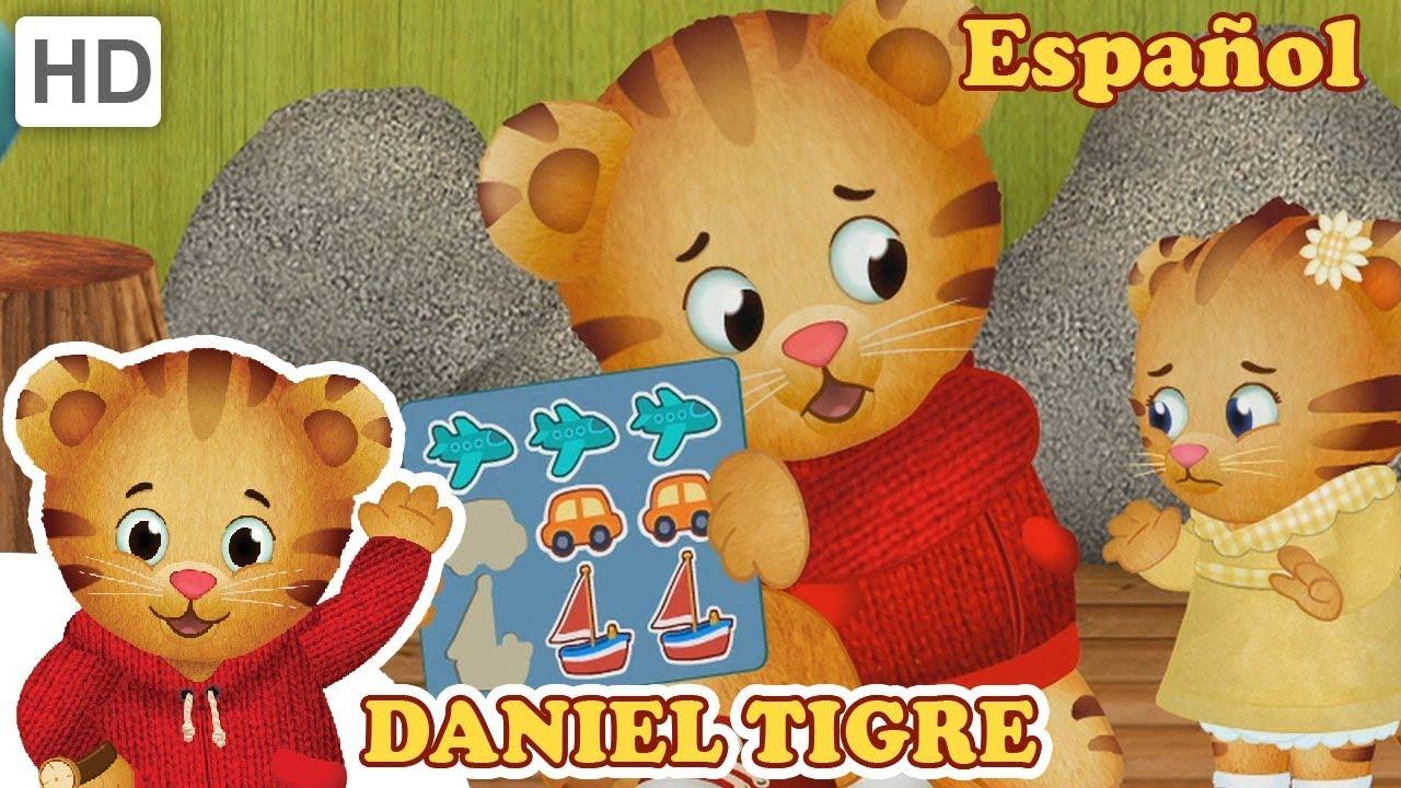Daniel Tigre en Español - Compartir con tu Hermana - YouTube