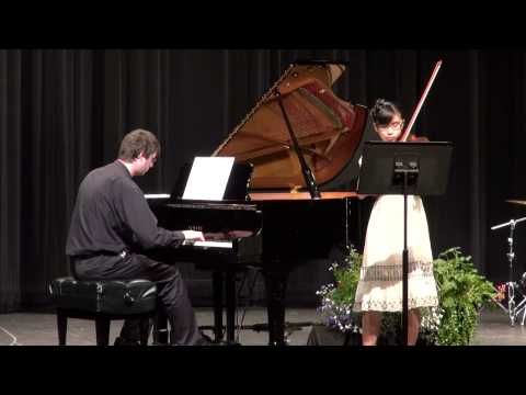 Emily Su's Violin Recital 2013