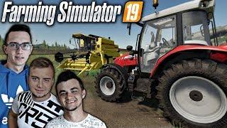 """""""od Zera do Farmera"""" #1 Farming Simulator 19 ✔ Nowy ciągnik, Żniwa & Sprzedaż zboża ✔ MafiaSolecTeam"""