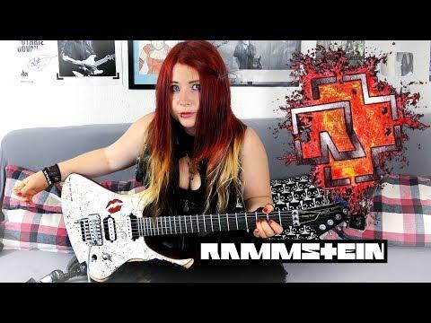 RAMMSTEIN - Du Riechst So Gut [GUITAR COVER] 4K  | Jassy J