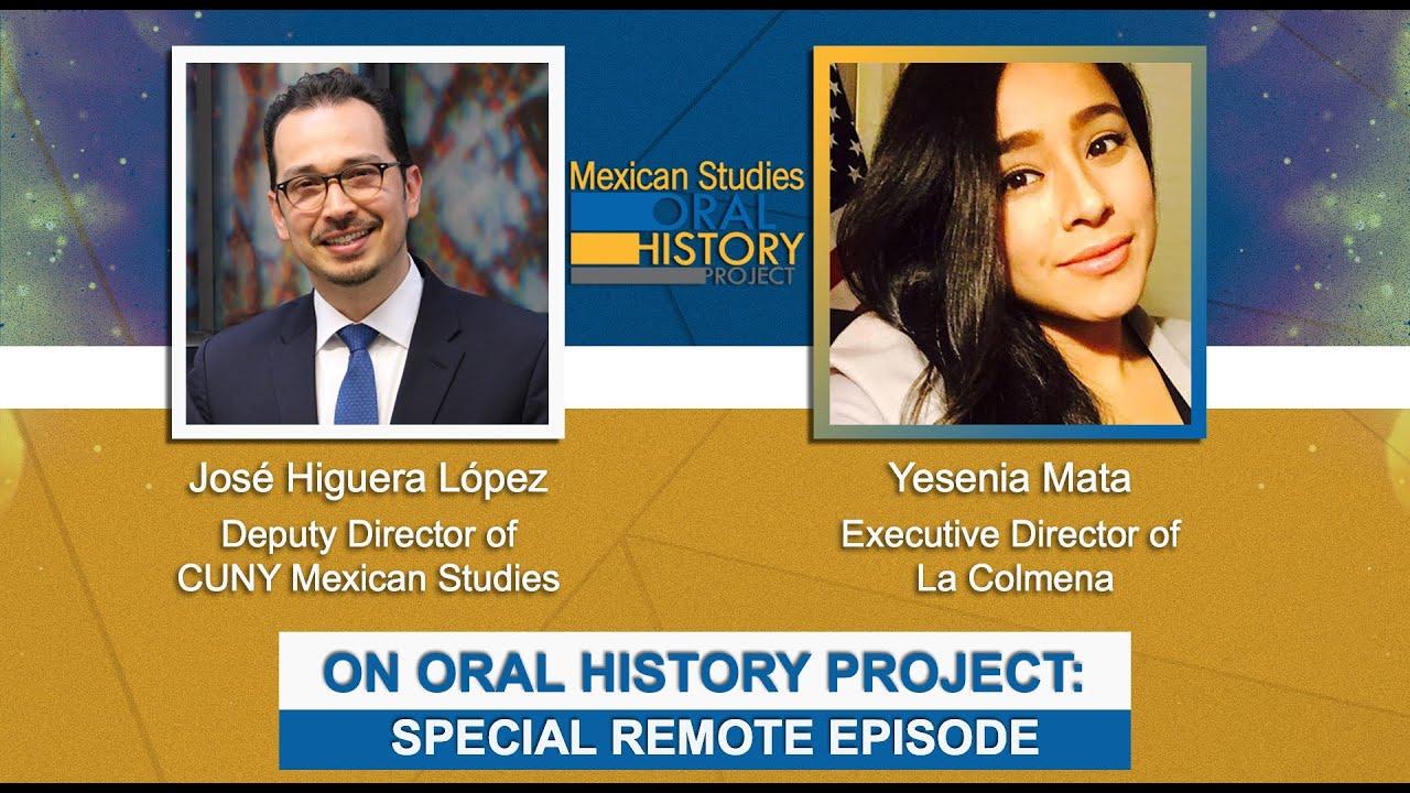 Mexican Studies Oral History Project: La Colmena