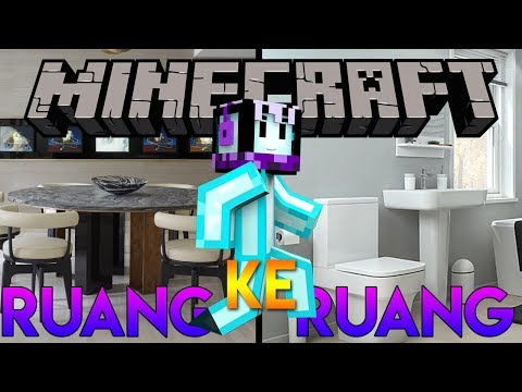 RUANG DEMI RUANG  Minecraft Indonesia Puzzle Map  The Rooms