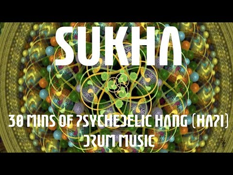Sukha - 30 Mins of Psychedelic Hang (HAPI) Drum Music with Fractal Art (Electric Sheep HD)