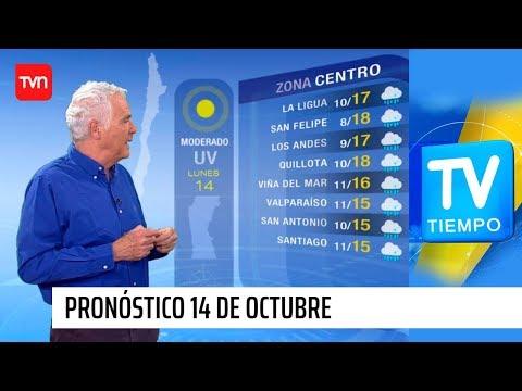 Pronóstico para este lunes 14 de octubre | TV Tiempo