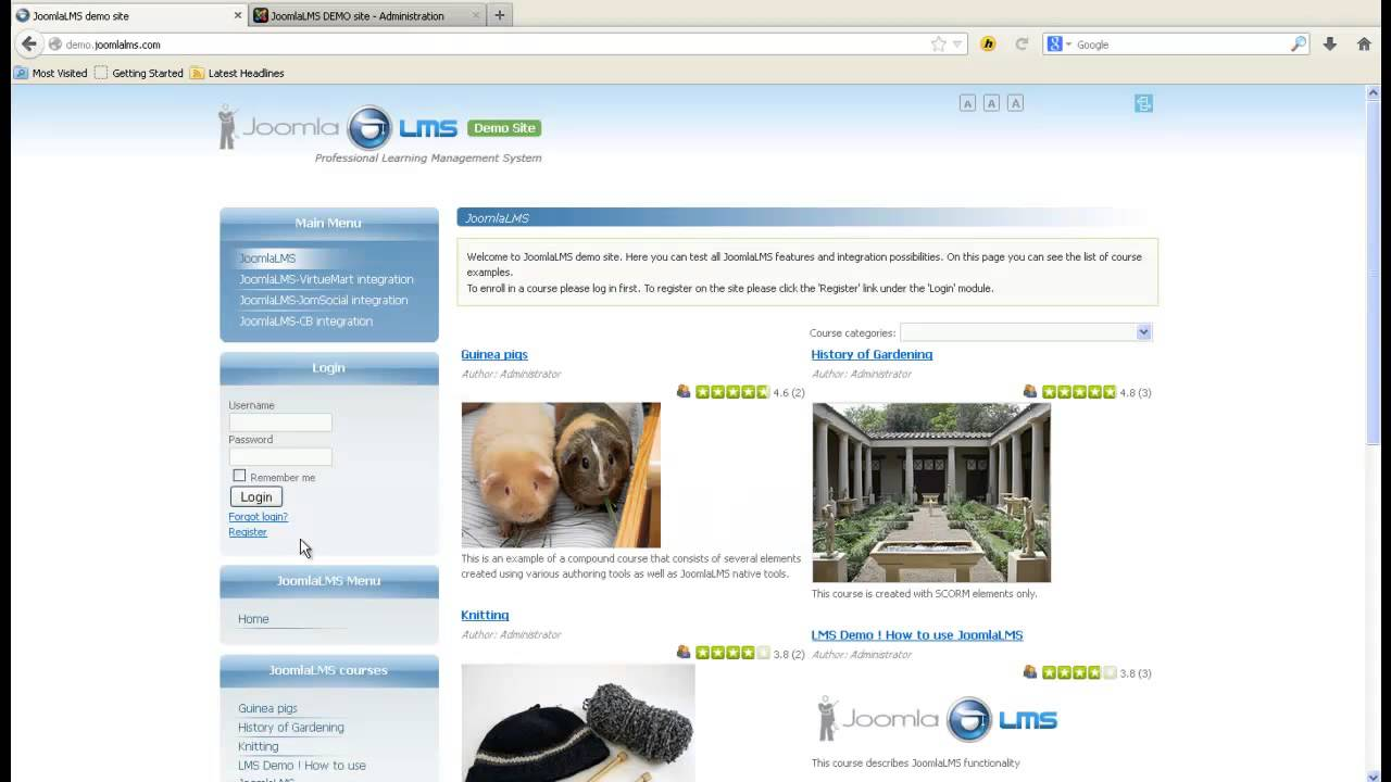 JoomlaMS Webinar -- Advanced Options of JoomlaLMS - YouTube