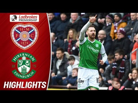 Hearts 0-2 Hibernian   Martin Boyle Double Secure Hibs Win!   Ladbrokes Premiership