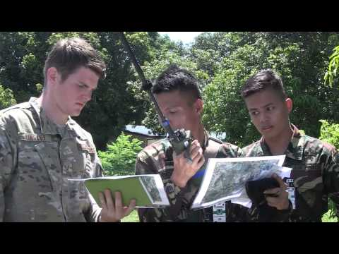 Philippine and U.S. Airmen conduct close air support training