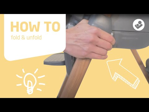 Maxi-Cosi | Minla 6-in-1 high chair | How to fold & unfold