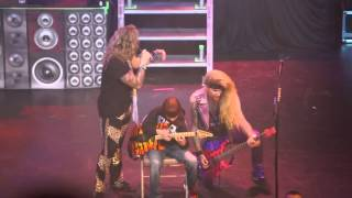 Aidan Fisher   11 Year Old Shreds With Steel Panther   Kansas City, MO   12 19 2013