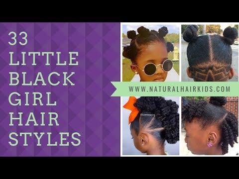 33 Little Black Girl Hair Styles - Natural Hair Kids