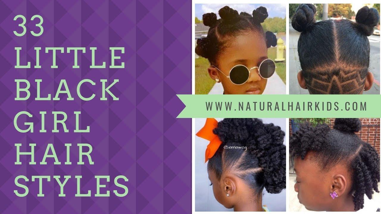 33 Little Black Girl Hair Styles Natural Hair Kids Youtube