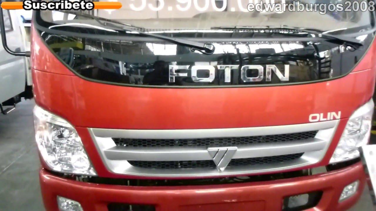 d2aaf1f62 foton olin cummins 2013 colombia video auto show medellin 2012 FULL HD -  YouTube