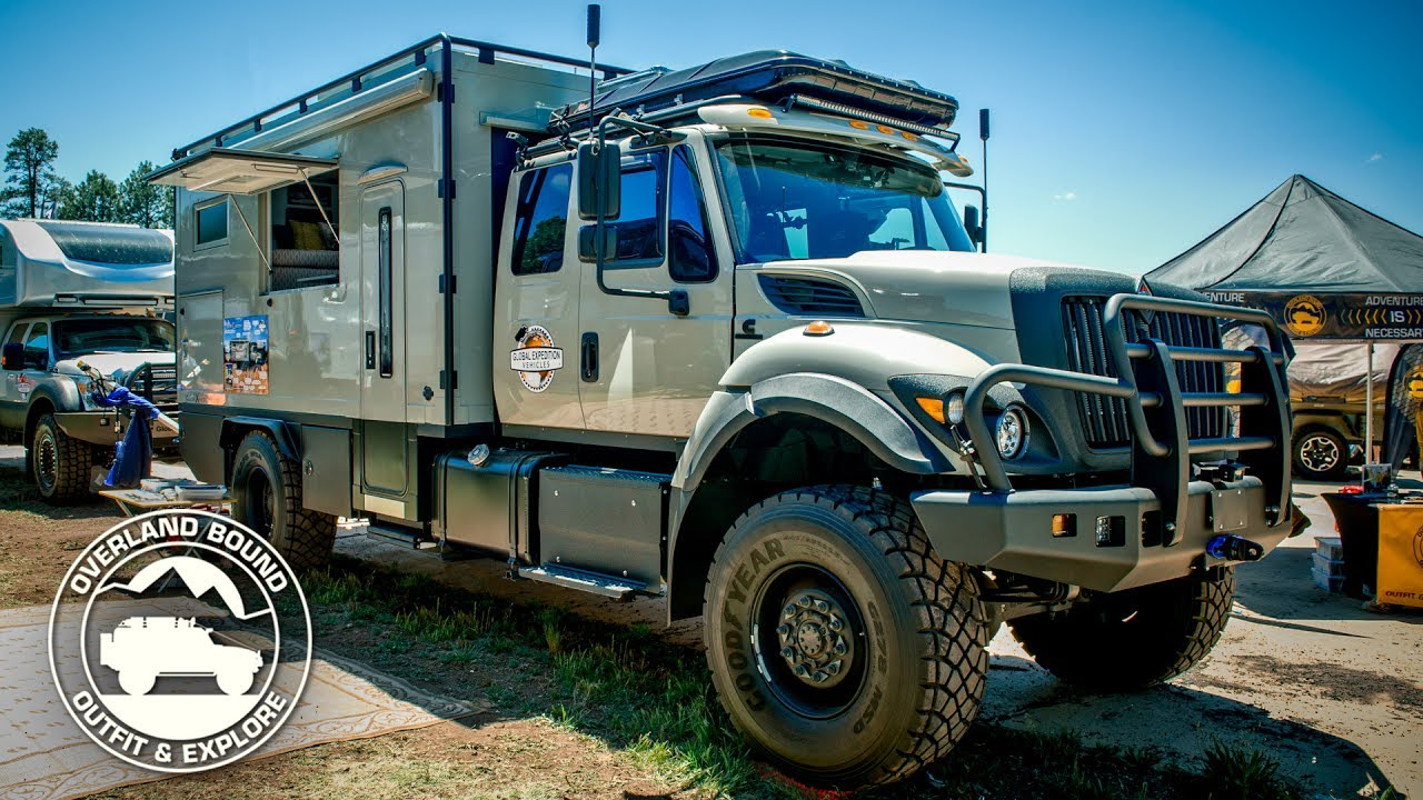 Global Expedition Vehicles Safari Extreme Rig Walk Around ...