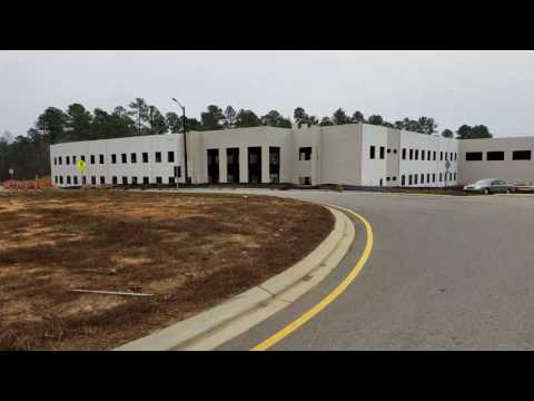 Envision Science Academy | Construction Progress | Roof On, Windows Going In