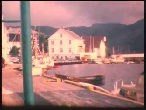 Farsund filmet med super 8. Anno 1980