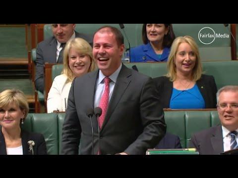 Is Northern Australia a joke? Bob Katter walks out on hysterical Josh Frydenberg