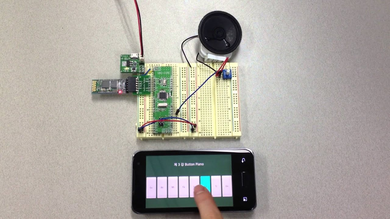 Arduino bluetooth android phone project quot speaker control