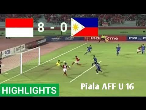 Indonesia U16 vs Filipina U16 (8-0) Hasil Pertandingan Bola Tadi Malam 29/7/2018