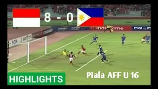 Download Video Indonesia U16 vs Filipina U16 (8-0) Hasil Pertandingan Bola Tadi Malam 29/7/2018 MP3 3GP MP4