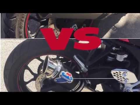 Yamaha Yzf R25 Exhaust Akrapovic Db Killer Revs Doovi