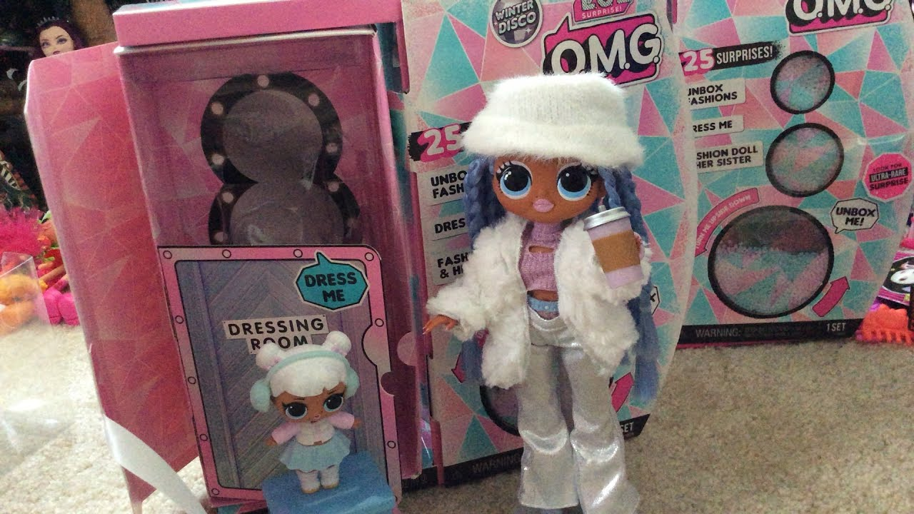 LOL OMG Winter Disco Snowlicious and Snow Angel doll set ...