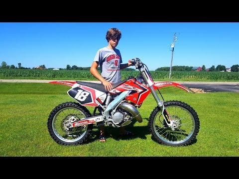 The New Honda Cr 125!!!
