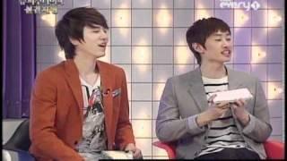 [full] 110223 Super Junior Foresight ep12: Yesung, Eeteuk, Eunhyuk, Kyuhyun