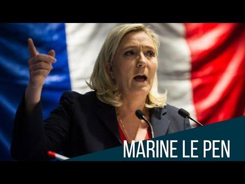 ¿Será Marine Le Pen la Trump de Francia?