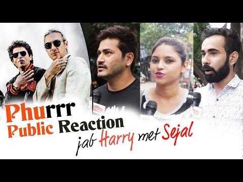 Jab Harry Met Sejal 'Phurrr Song' - Public Excitement - Shahrukh Khan, DJ Diplo
