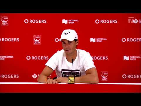 Rafael Nadal Press conference / R2 Toronto Masters 2018