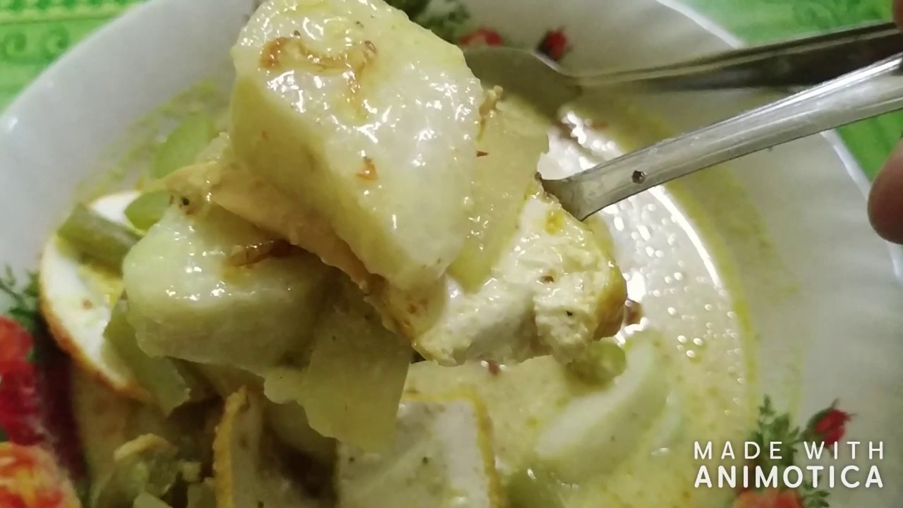 Indonesian Culinary Kuliner Indonesia Cipanas Puncak Lontong