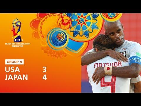 USA v Japan [Highlights] – FIFA Beach Soccer World Cup Paraguay 2019™