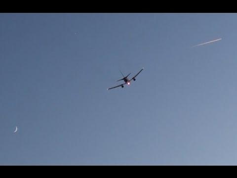 Boeing 767-204/ER(BDSF) Star Air (Maersk Air) OY-SRK - Décollage de RNS le  21/05/15
