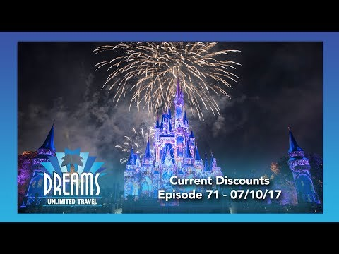 Current Walt Disney World Discounts & More | 07/10/17