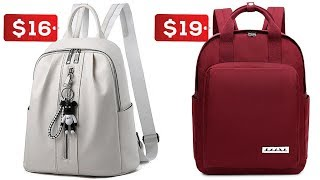 10 Best Backpack For Women Within US $7 To $20 - Travel & High School Bag