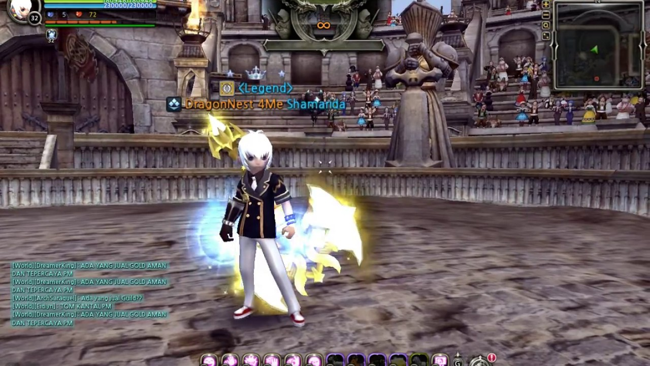 dragon nest destroyer awakening level 93 youtube