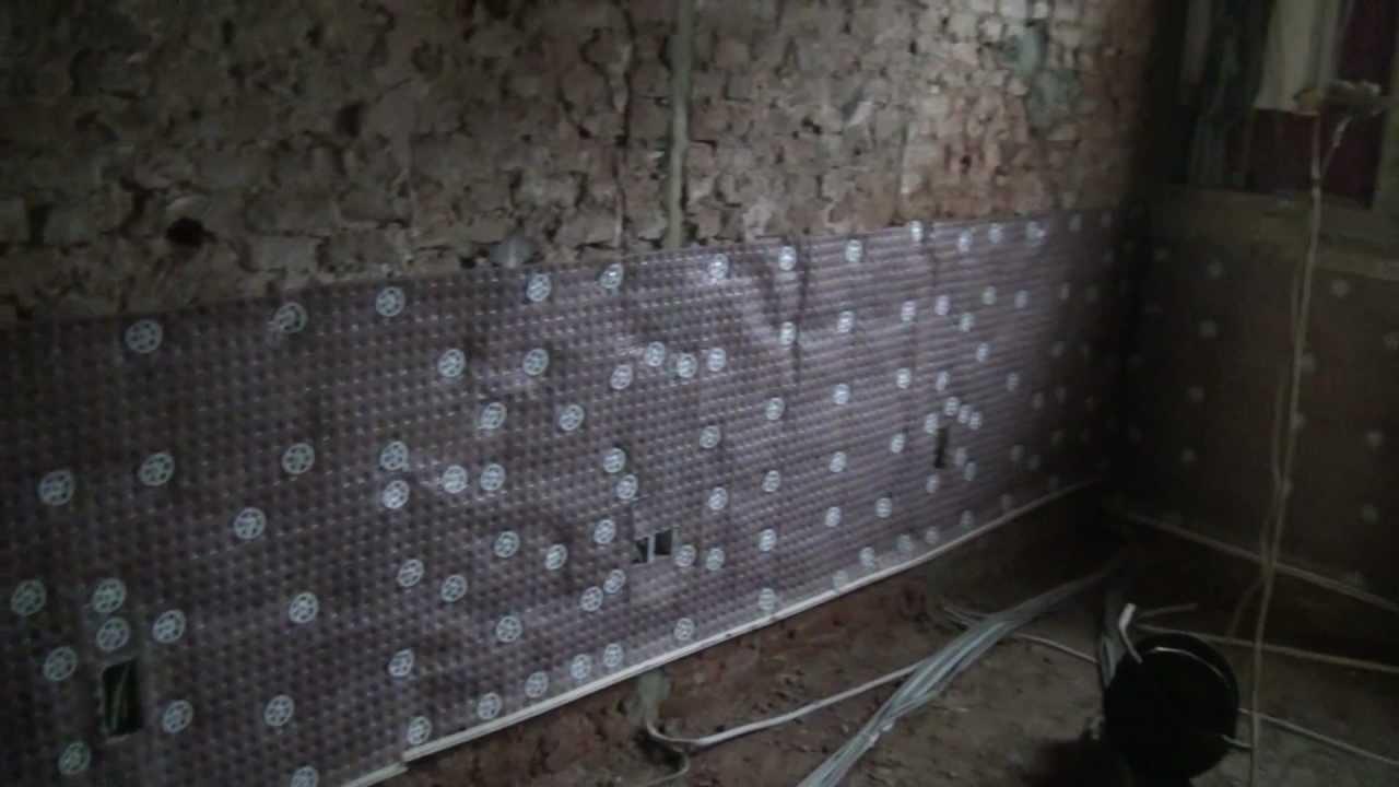 mur humide