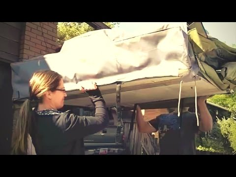 How to Install the Mt. Bachelor Roof Top Tent from Cascadia Vehicle Tents