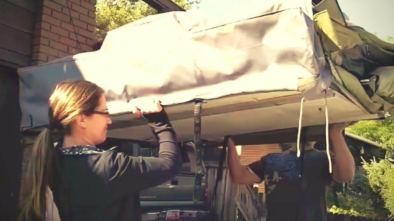 How To Install The Mt Bachelor Roof Top Tent From