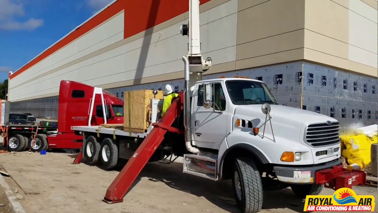 Commercial A C Installation Houston Royal Air