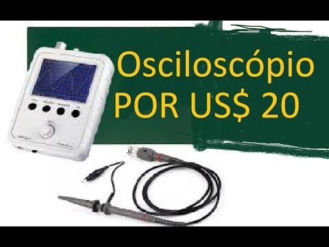 Osciloscópio DSO150  Por US$ 20, DIY, 1MSa/s 0-200 KHz mais barato.
