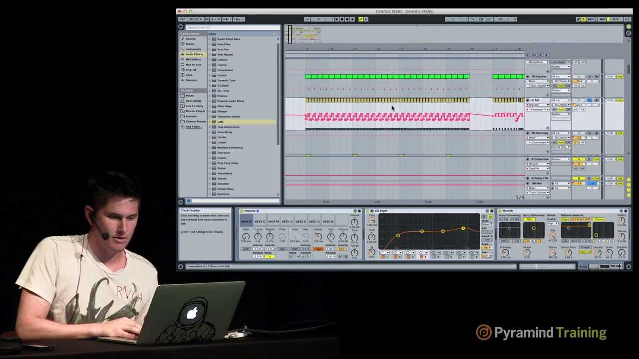 Ableton Live | How to Make Dubstep - Drums Tutorial with Singularity | Pyramind