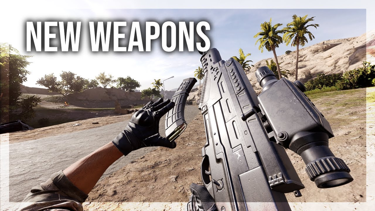 Download Brand New Weapons in Insurgency Sandstorm [Type 97 & QTS-11]