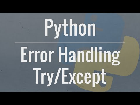 Python Tutorial: Using Try/Except Blocks for Error Handling