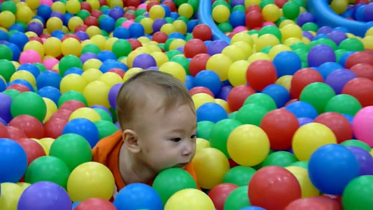Indoor Playground Fun For Kids At Leyou Baby Store Youtube